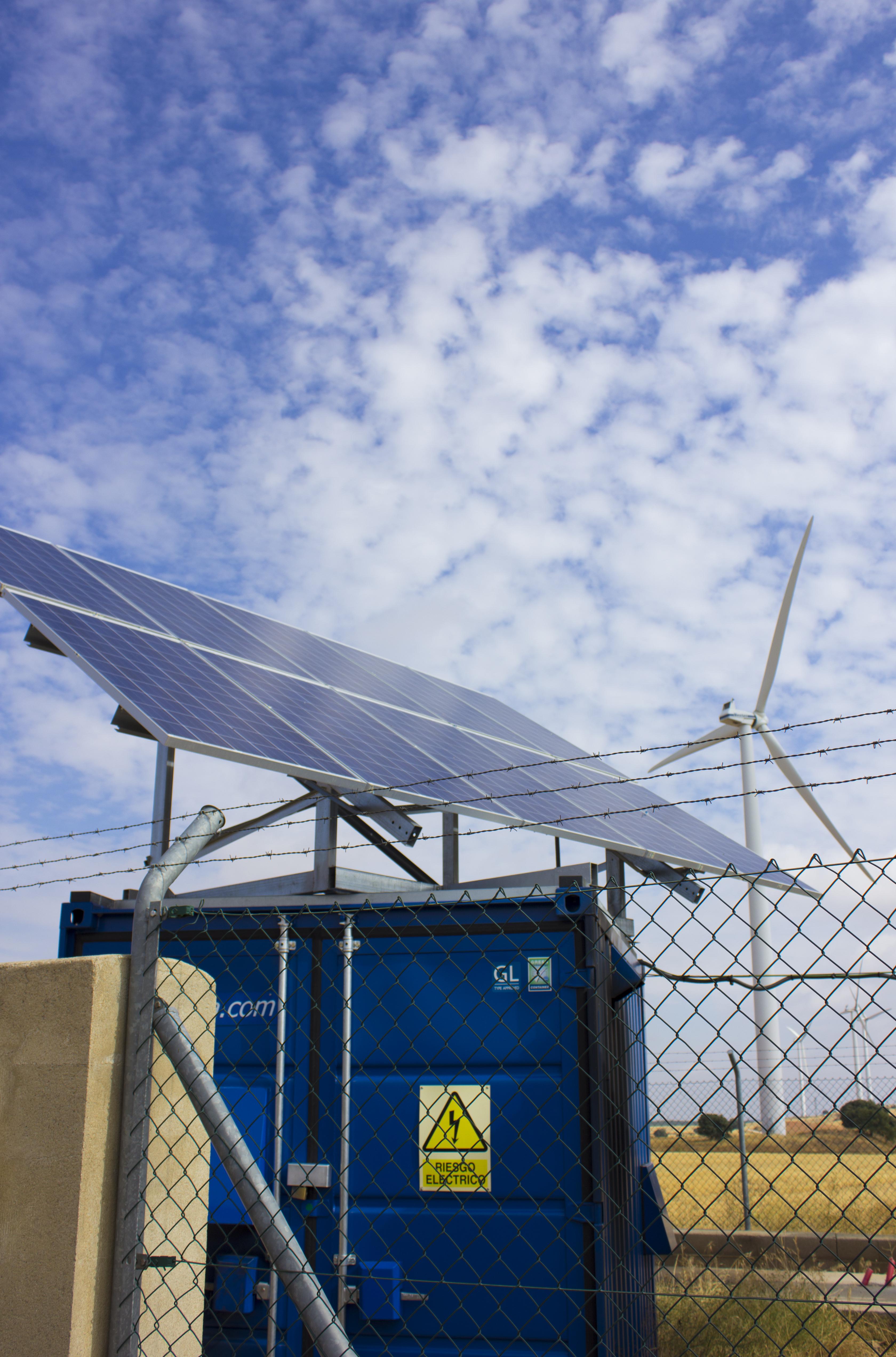Ecocube: sistema de energía híbrida