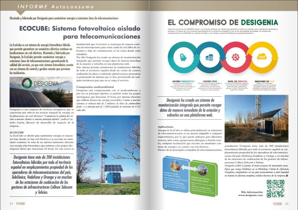 Desigenia en Solar News