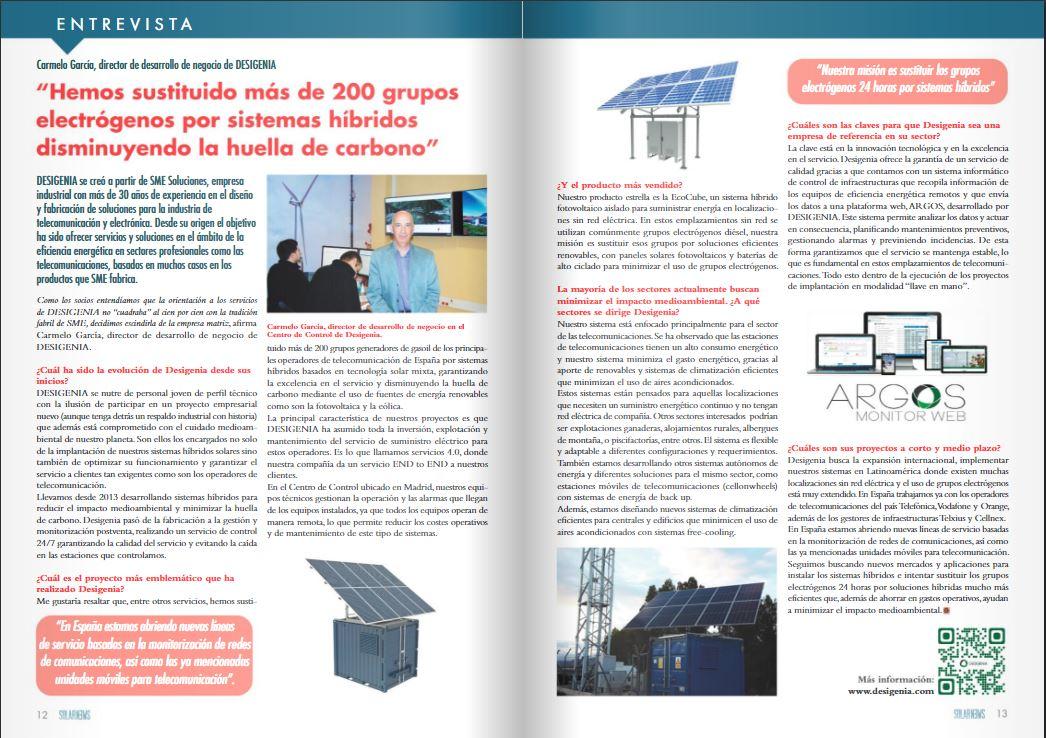 entrevista Desigenia en Solar News