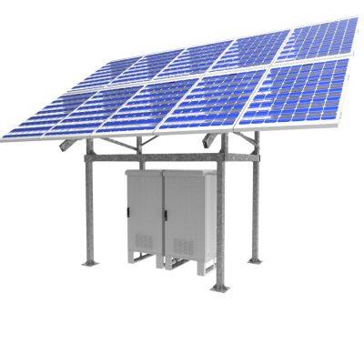 Ecocab: sistema fotovoltaico aislado