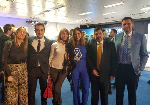 Equipo de Desigenia en los Premios La Razón